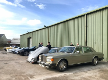 Rolls, E-type, Escort, Mustang
