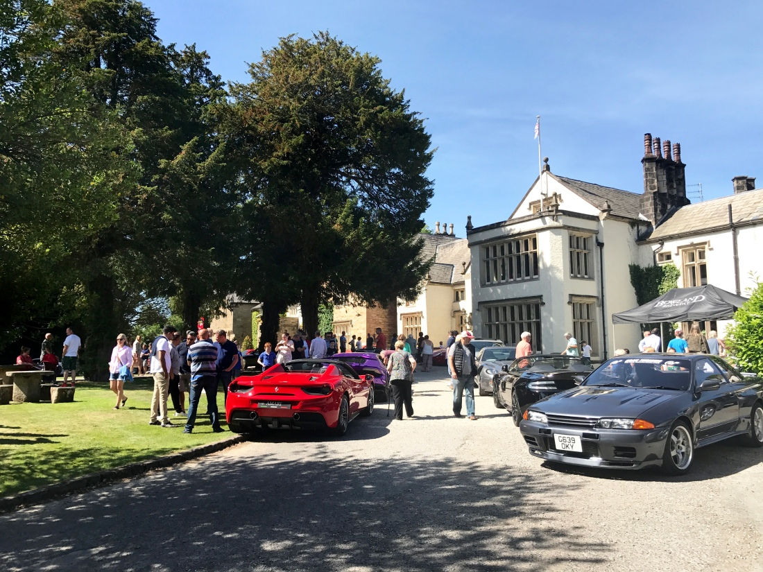Gentlemens Breakfast Club Not Carrying The Gt4 Suspension Whether Disc Or Drum On Rear Myself And Some Of Guys Who Attended Mitton Halls Super Car Sunday We Could Asked For Better Weather
